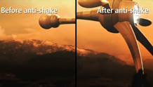 Anti-shake (Video Stabilization)