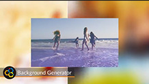 Special effects app: NewBlue Background Generator