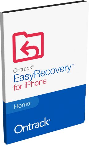 Ontrack EasyRecovery iPhone Home