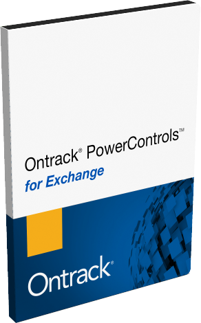 Ontrack PowerControls per Exchange