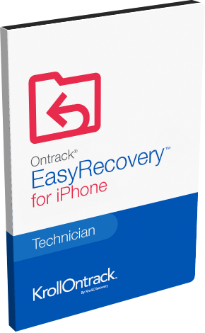 Ontrack® EasyRecovery™ Technician for iPhone for Windows